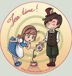 Tea time by Kalmia