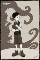 El joven Lovecraft by Kalmia