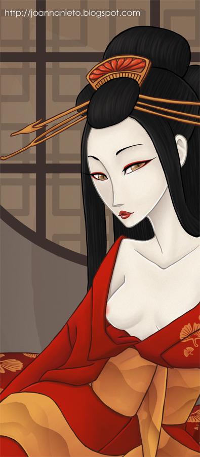 Kitsune detail by Kalmia