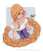 Rapunzel by Kalmia
