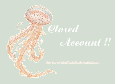 Closed account