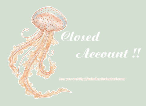 Closed account