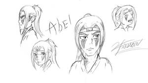 Abel character design part 2