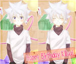 7/7 Happy Birthday Killua!