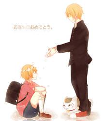 Happy Birthday Natsume by Rizun27