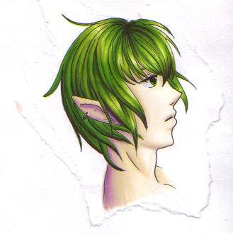 23+ Green Haired Elf  Images