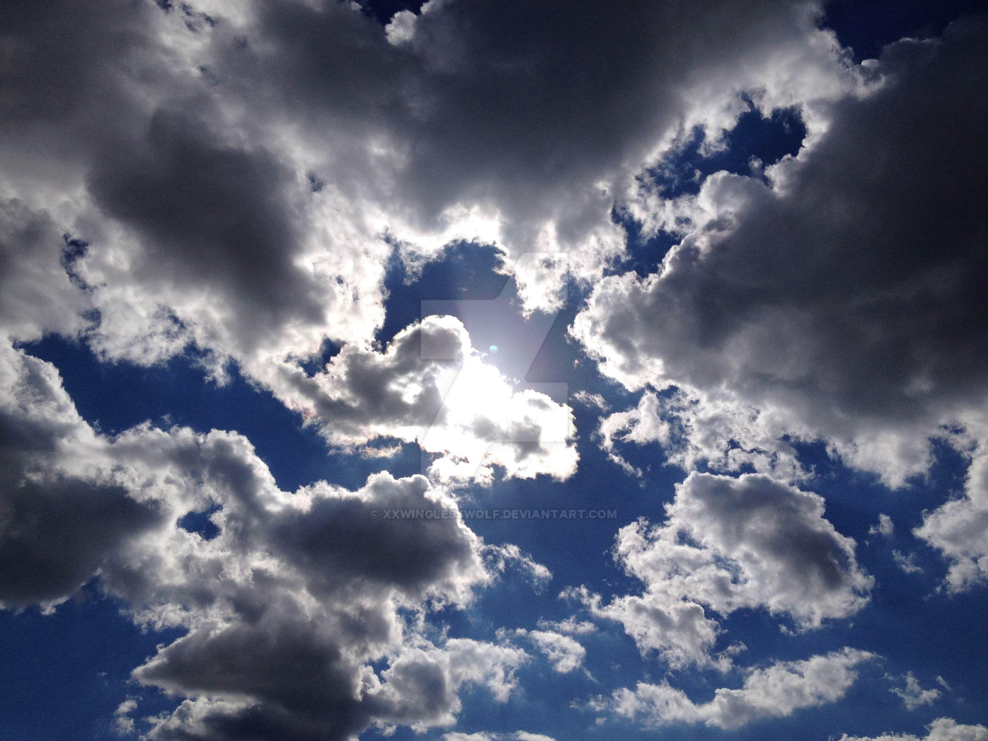 Speckled Sky by xxWinglessWolf