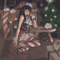 stocking stuffer by pantsu-pirate