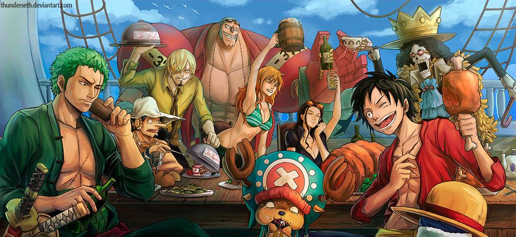 One Piece Fanart by ThunderSeth