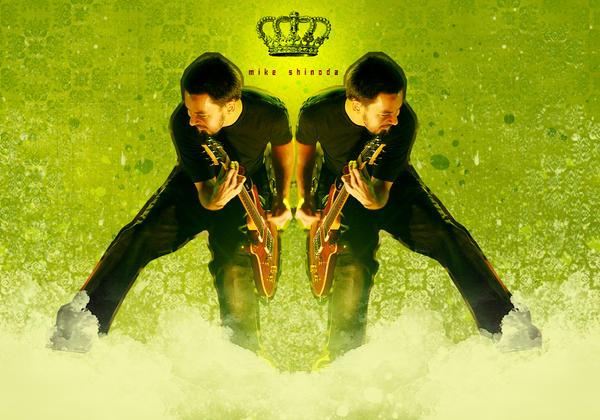 Mike Shinoda.  .  por e-Oshima