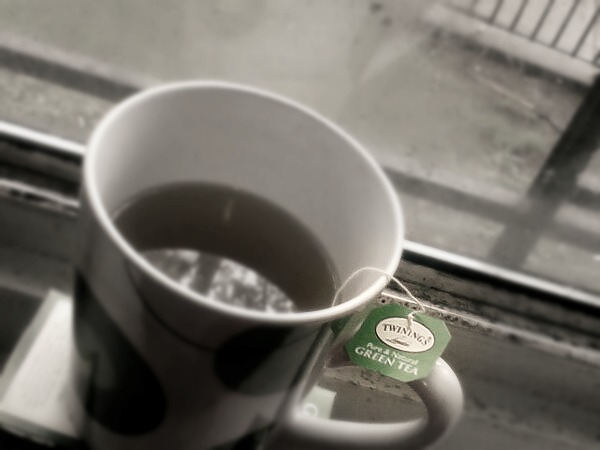Green Tea and Rainy Days by cyanidedragonfly
