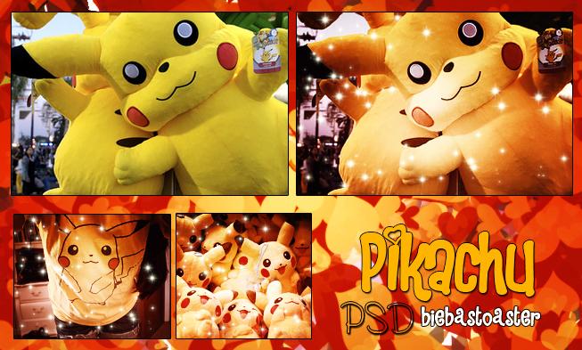 Pikachu Psd. by BiebasToaster
