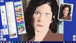Elizabeth Weir - Stargate Atlantis WIP by MidknightStarr