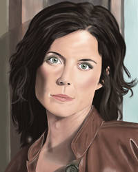 Elizabeth Weir Stargate Atlantis by MidknightStarr