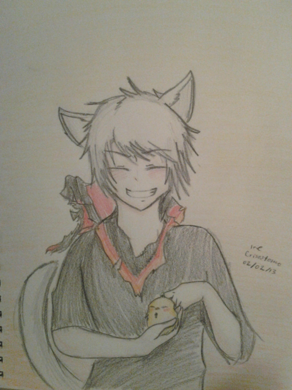 Neko!Prussia by Jennifer0012