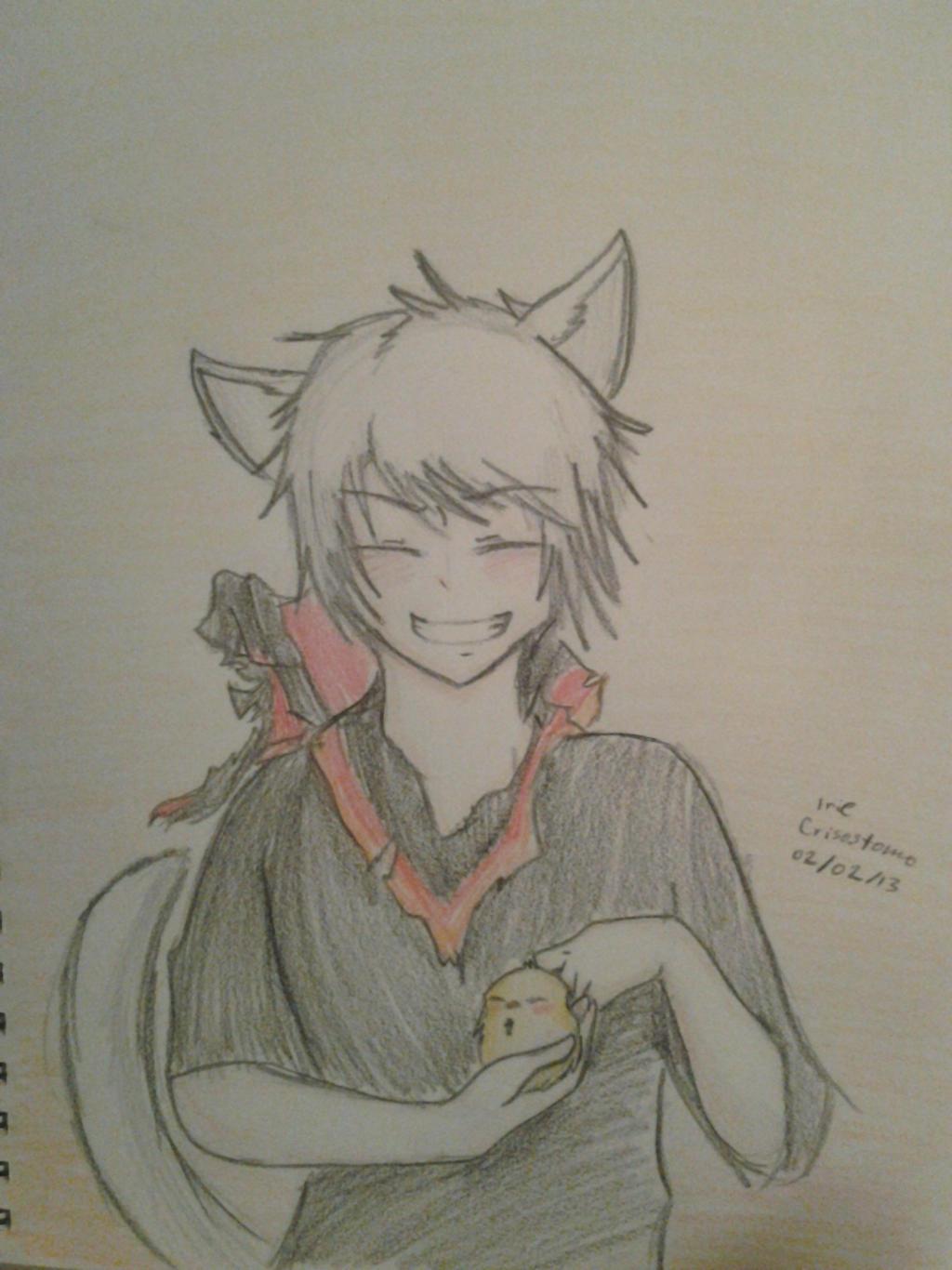 Neko!Prussia by Jennifer0012