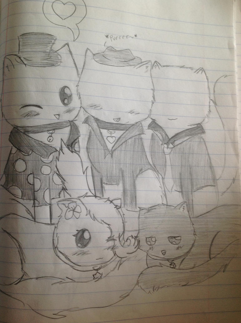 Slender kittes by Jennifer0012