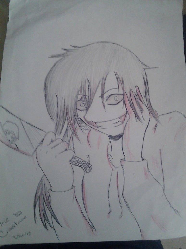 Jeff The Killer (Improved) by Jennifer0012