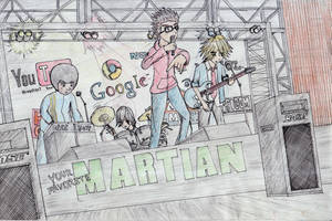 Your Favorite Martian Band by OtakuEinjeru
