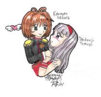 Tomoyo and Sakura by KurataSana