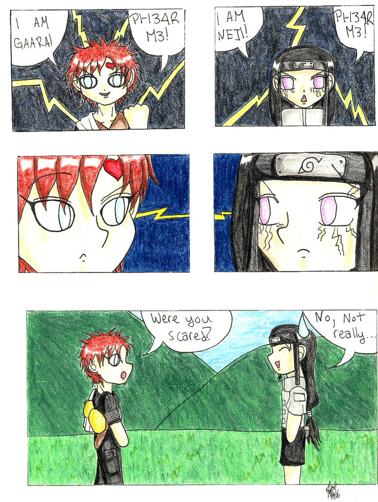 Naruto : Gaara and Neji Comic by KurataSana on DeviantArt Gaara And Neji