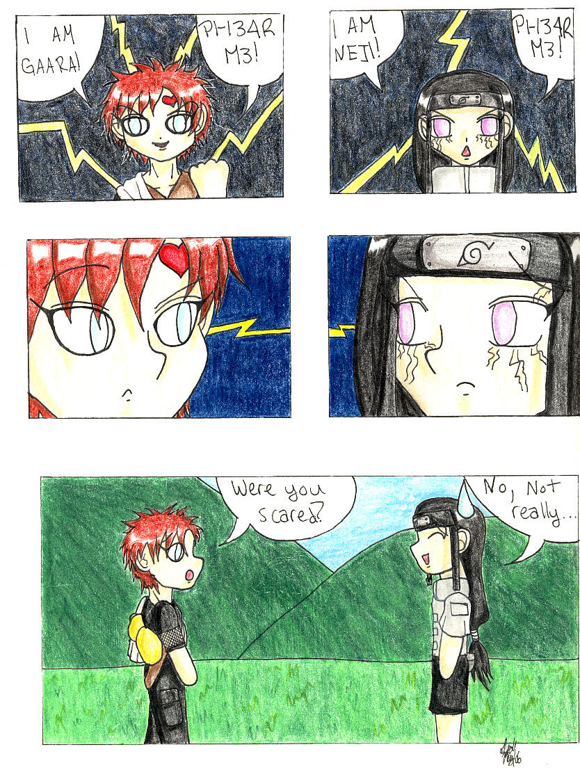 Naruto : Gaara and Neji Comic by KurataSana on DeviantArt Gaara And Neji