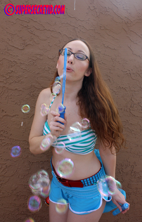 Crystal Blows Bubbles by norrit07