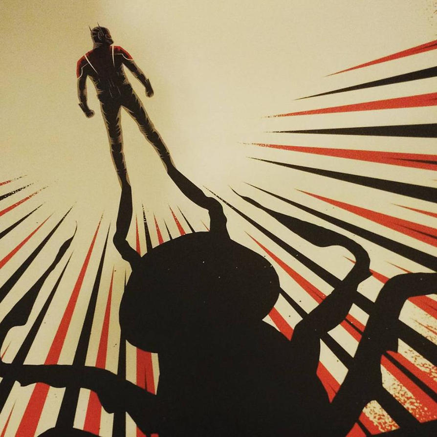 Ant-Man poster 2 by norrit07