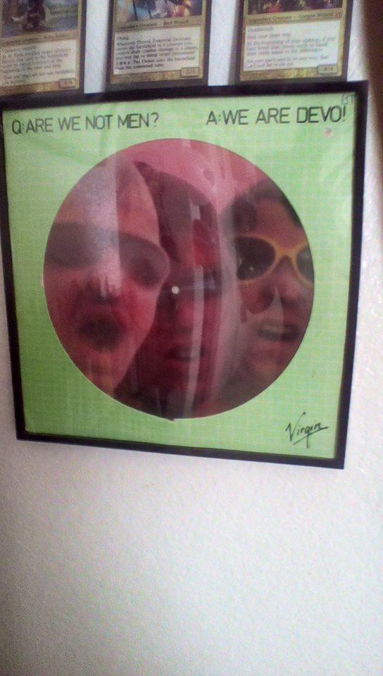 Devo Vinyl by norrit07