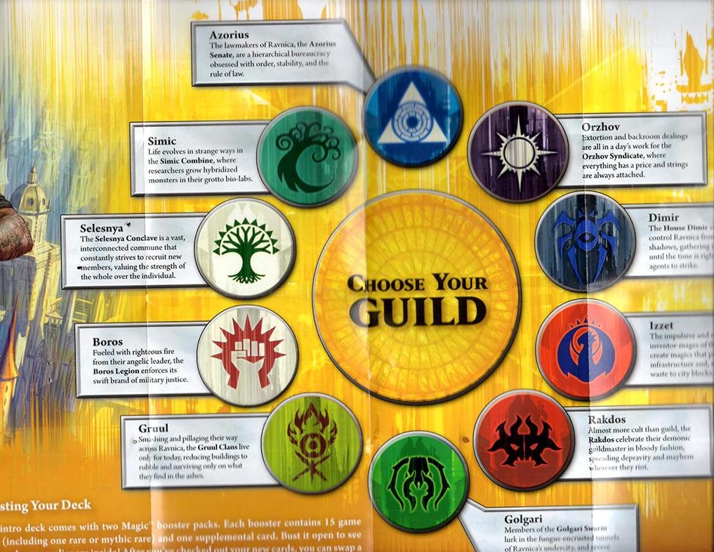Ravnica Guilds by norrit07