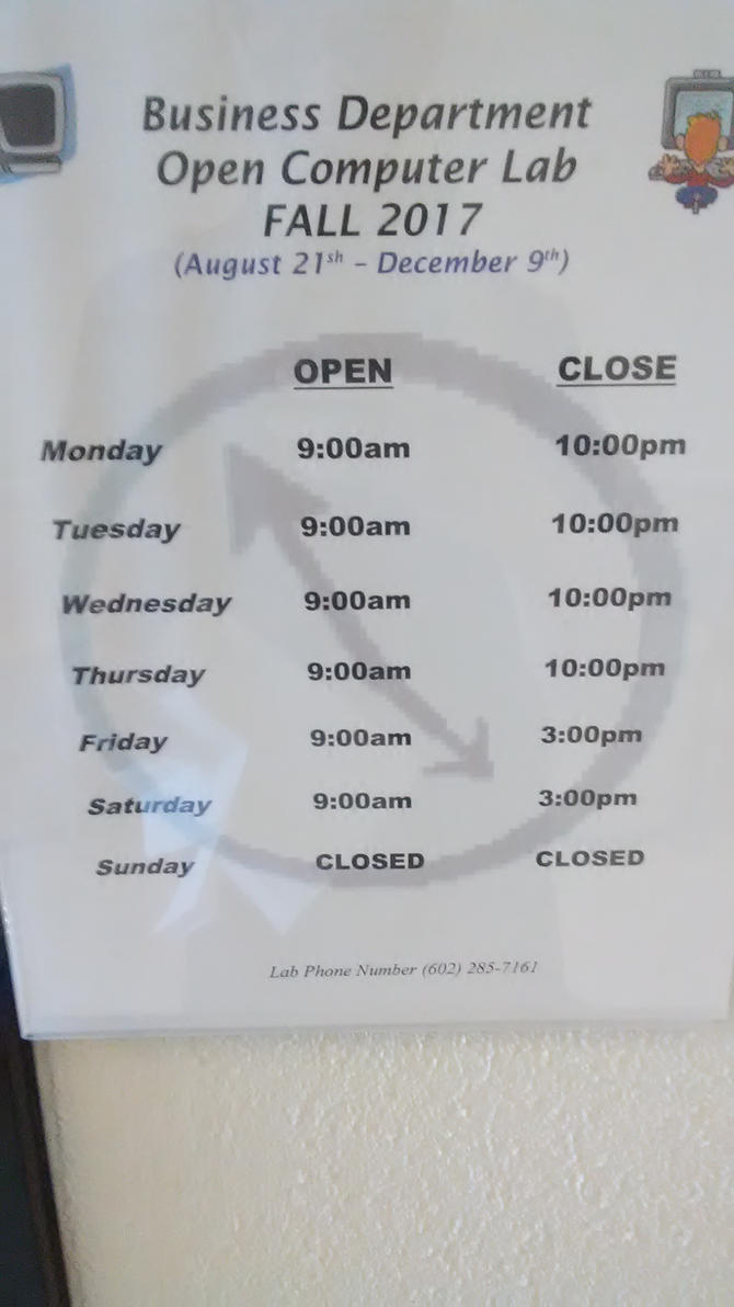 Lab Hours by norrit07