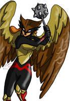 Hawkgirl by Ceruulean