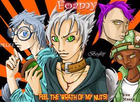 Foamy and Friends... Human? by Tal-Ki