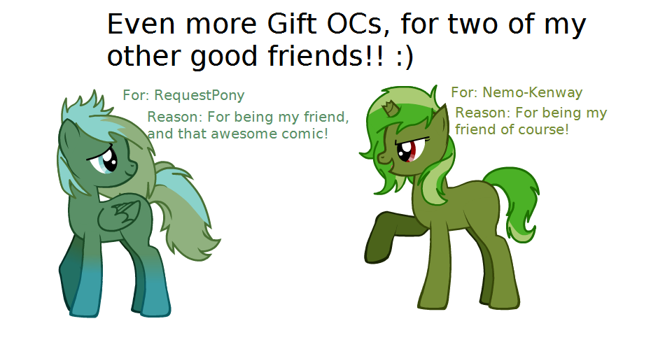 Even More Gift OCs! by wezzie1