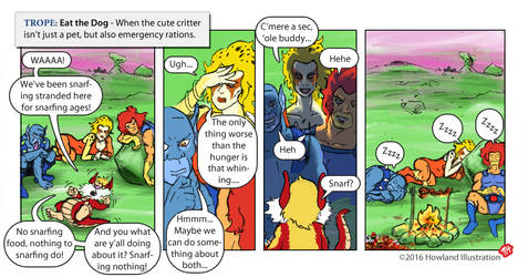 Twisted Tropes - Eat The Dog by MikeHowland