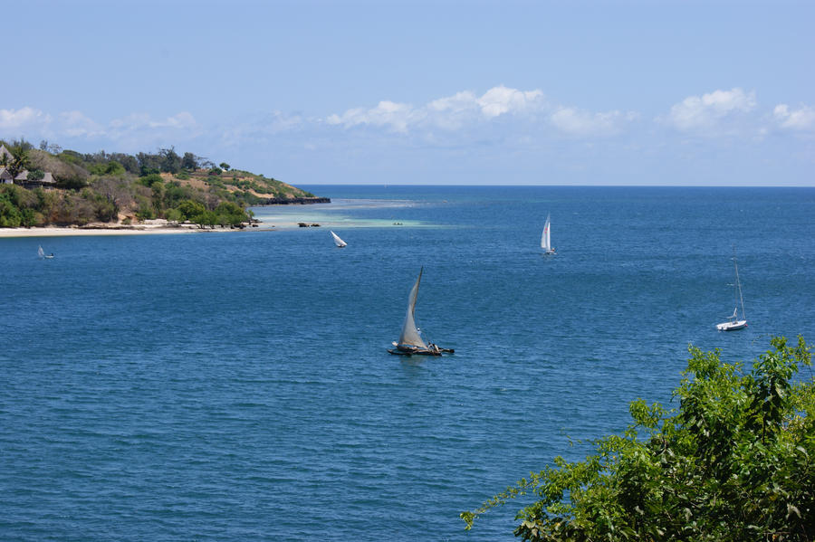 Landscapes Kenya Sailing wallpaper