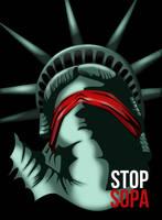 Stop SOPA by BERCLEY