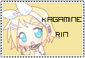 Vocaloid Kagamine Rin Stamp by Panajandro