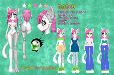 Nancy Ref Sheet by BinkaKitty