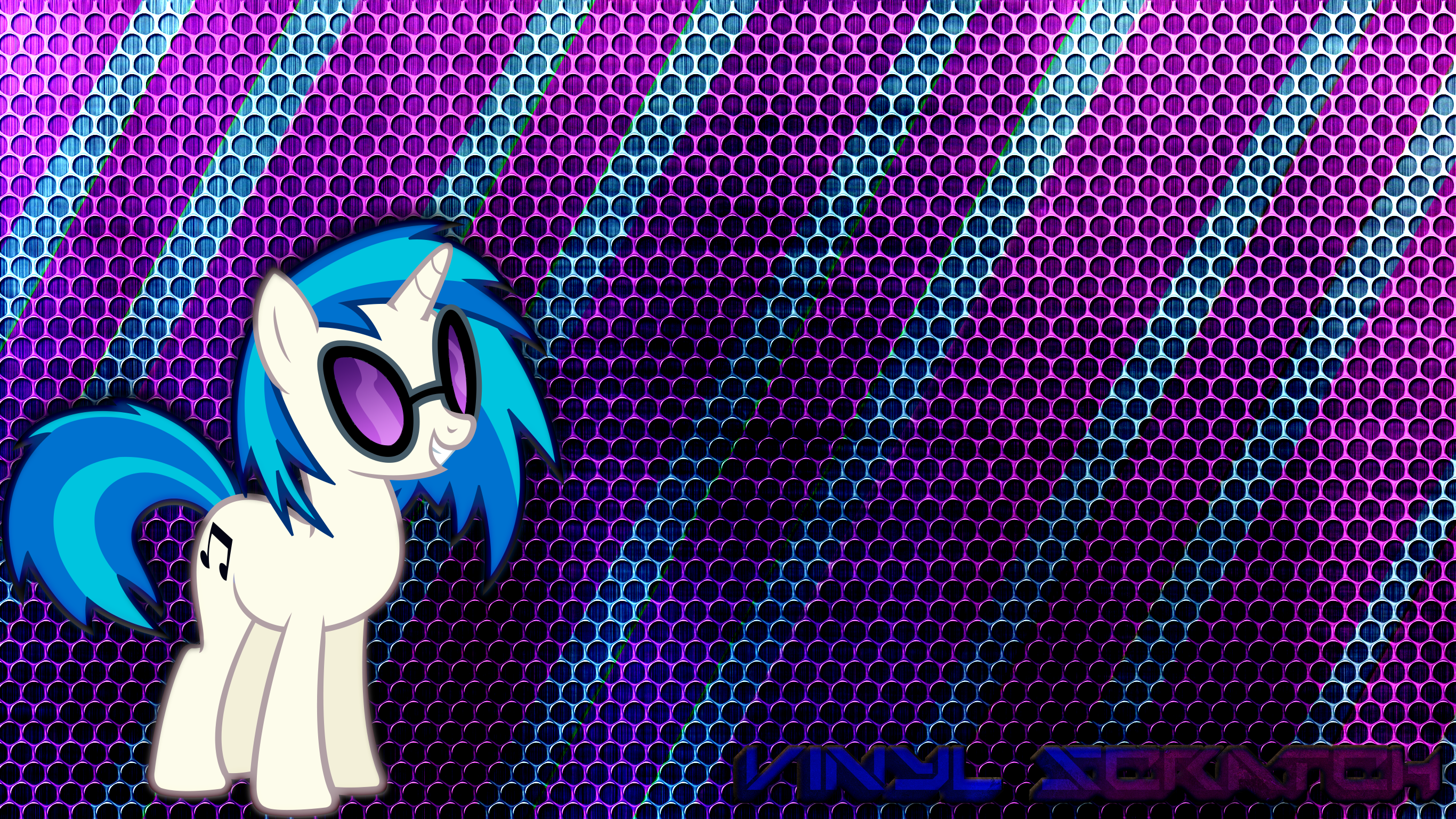 Vinyl Scratch Wallpaper 5 by JamesG2498
