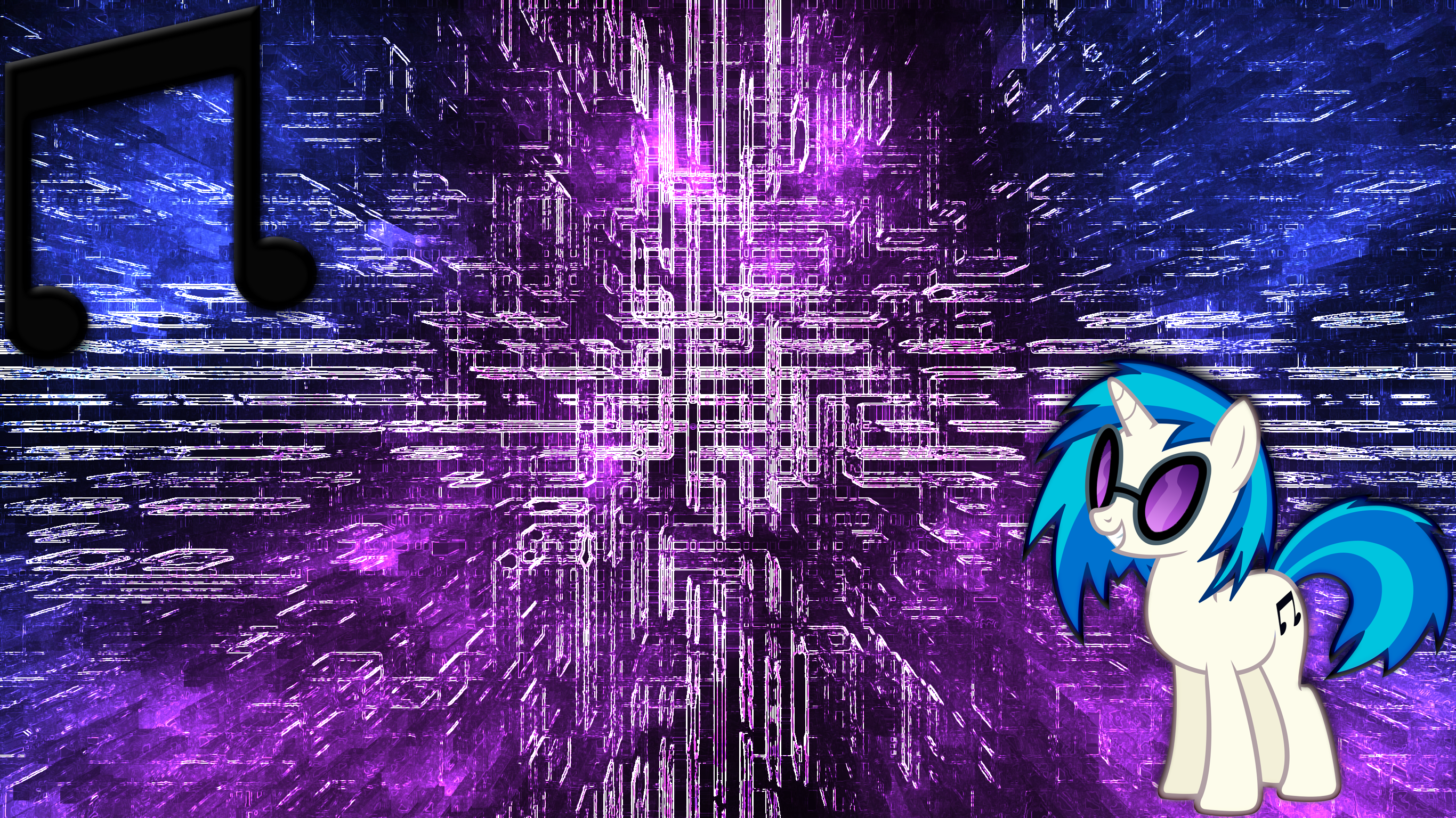 Vinyl Scratch Wallpaper 6 by JamesG2498