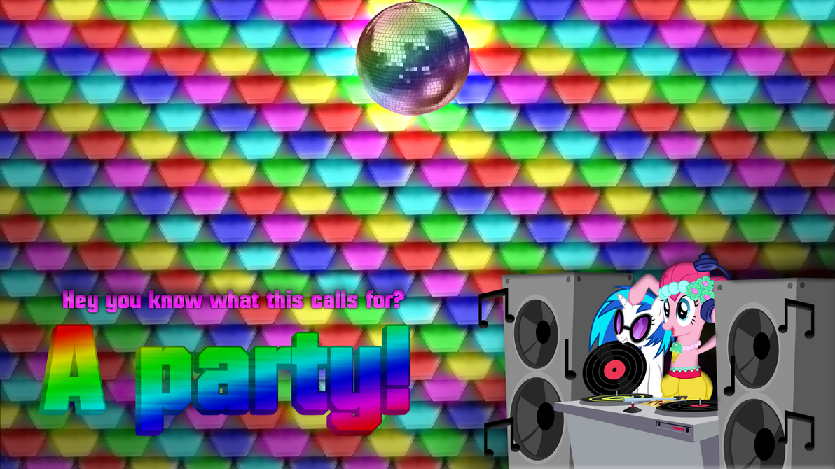 This calls for a party wallpaper by JamesG2498