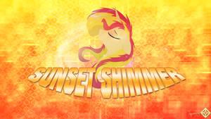Sunset Shimmer Wallpaper 1 by JamesG2498