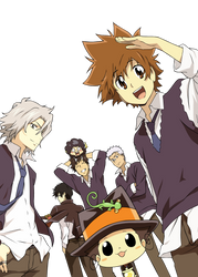Family of the Vongola by Nakamura02