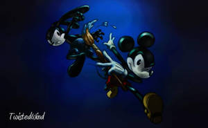 Epic Mickey wallpaper by twisted-wind
