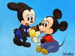 Mickey and Ozzie