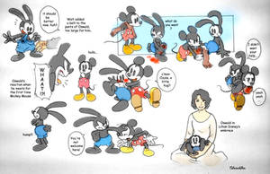 Disney brothers sketches by twisted-wind