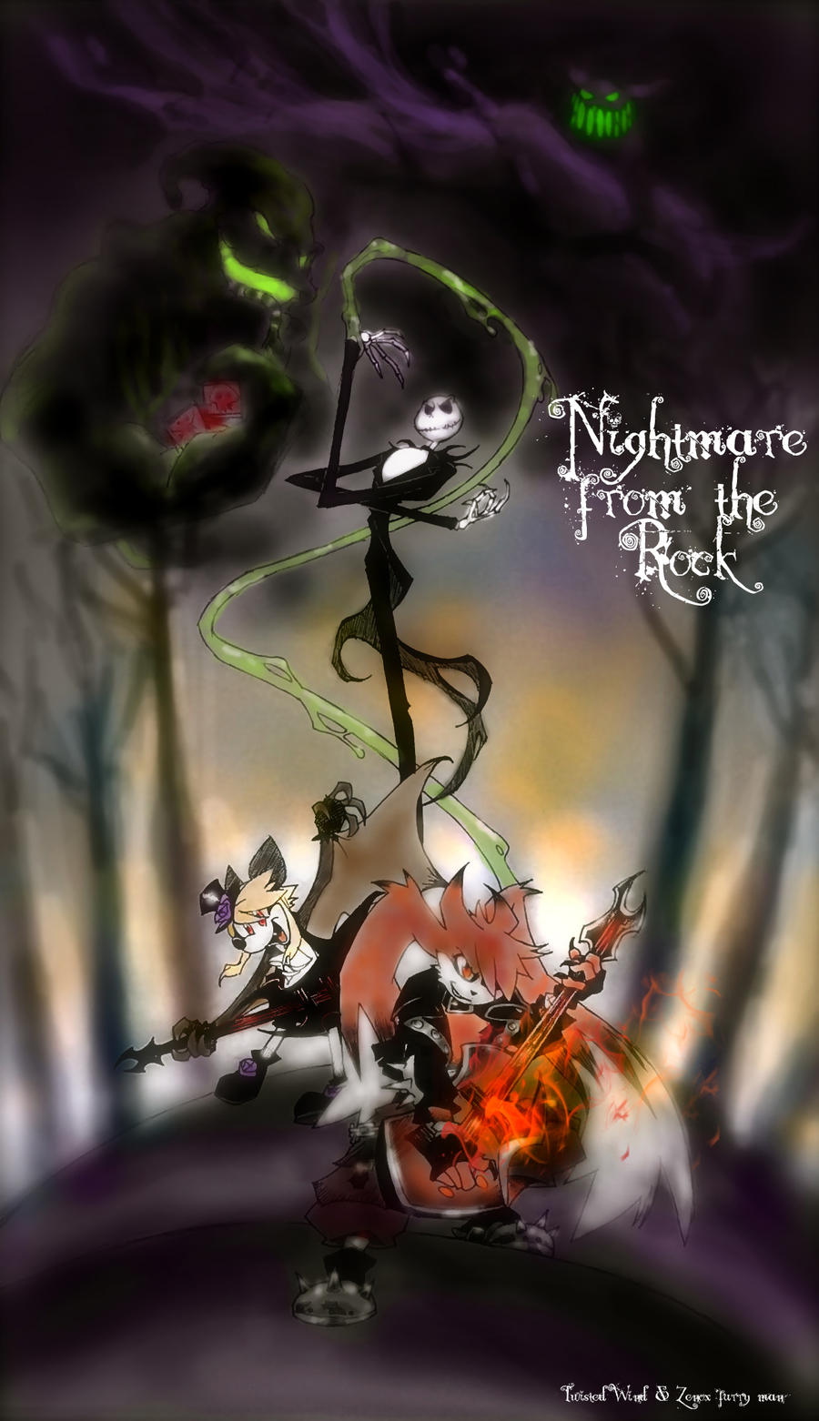 nightmare from the rock- cover by twisted-wind