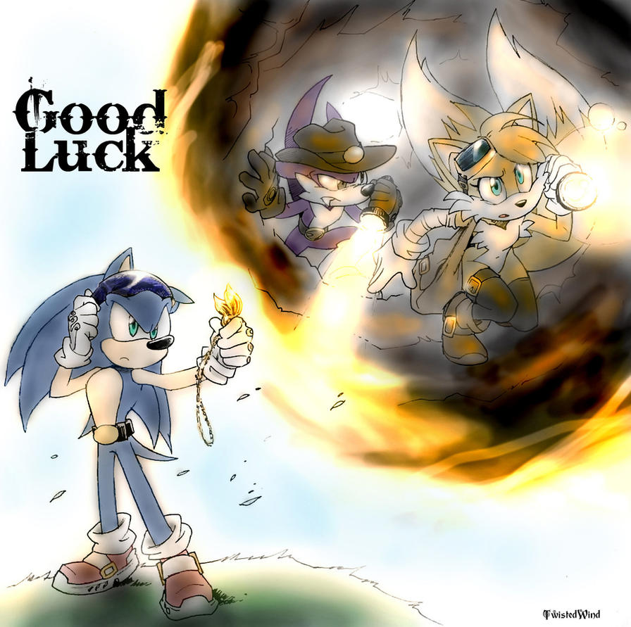 Good Luck by twisted-wind