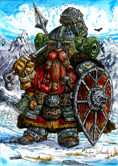 Bear_Clan_Dwarf by develino